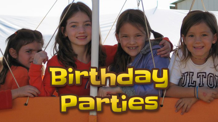 Oakes Farm - Birthday Parties